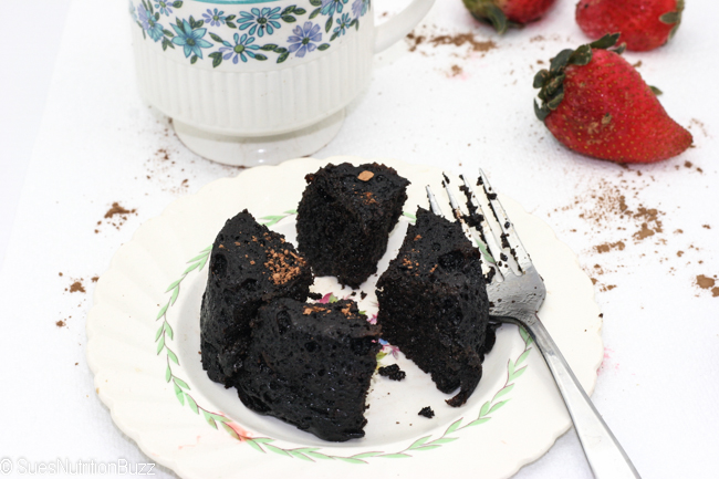 Flourless chocolate cake-8992
