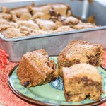 Chocolate Chip Pumpkin Blondie