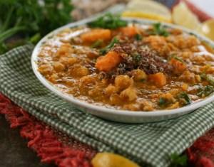 Quinoa Chickpea Soup