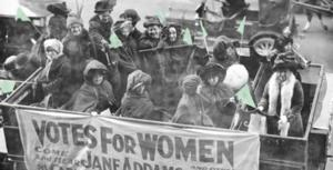 Play about Chicago women in suffrage movement
