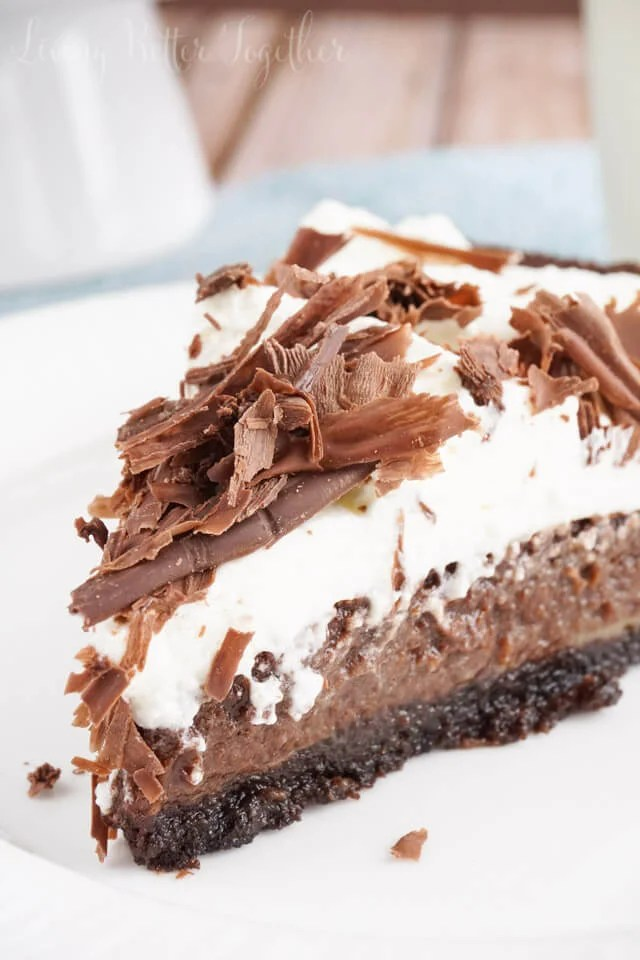 This Mississippi Mud Pie is a perfectly rich blend of chocolate and ...