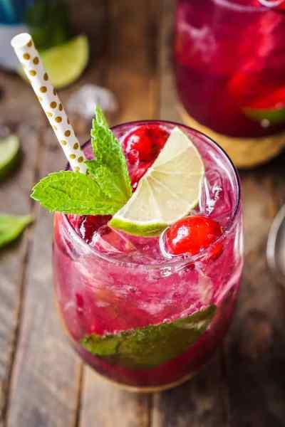 Cranberry Mojito Punch