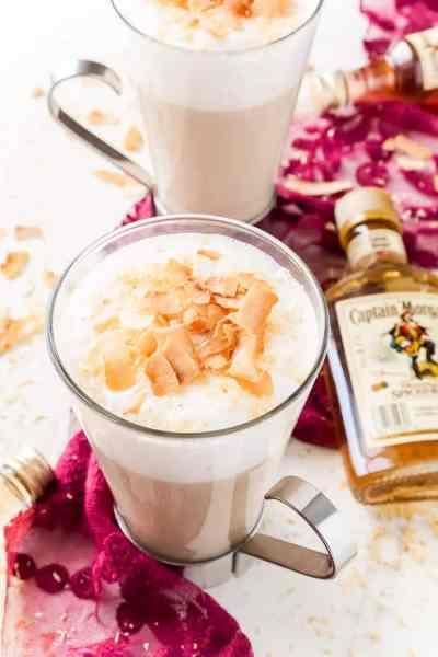 Winter Cocktails: Spiked Coconut Vanilla Steamer