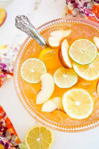 Spiked Peach Punch
