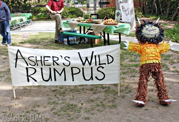 Where the Wild Things Are Party   SugarHero.com
