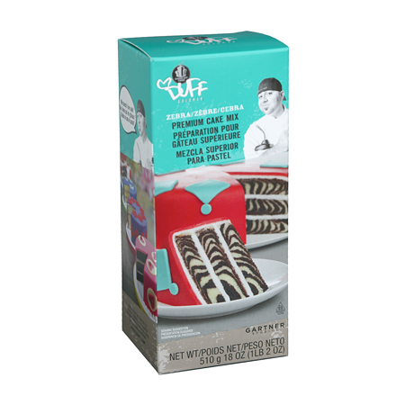 Duff Goldman Zebra Cake Mix