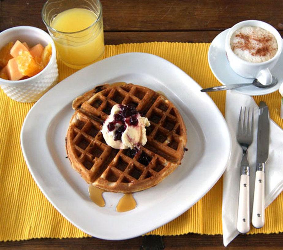 Dark Chocolate Chip Belgian Waffles – SugarLoveSpices