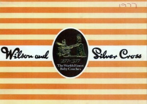 Wilson and Silvercross Vintage Coachbuilt Pram Catalogue 1977