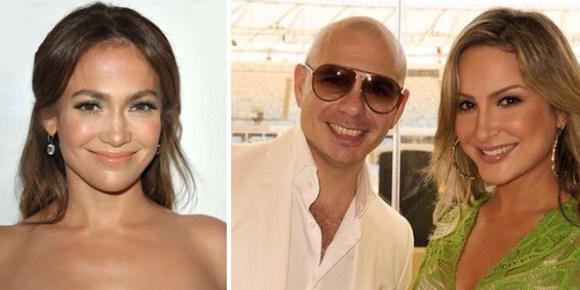 Jennifer Lopez Pitbull et Claudia Leitte pour chanter la chanson du Mondia 2014