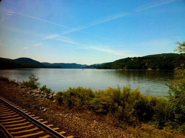 If you're looking for me this week, I'll be in the beautiful Hudson Valley.