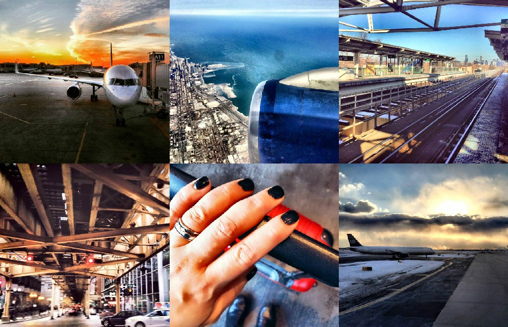 Business Travel Collage