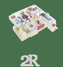 Suites Malecon Cancun Suite de dos recamaras