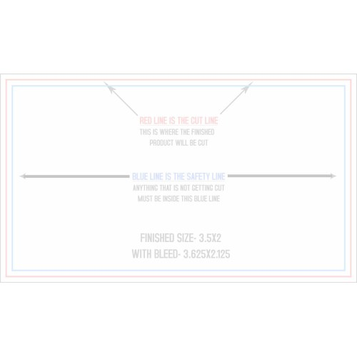 Medium Crop Of Business Card Standard Size