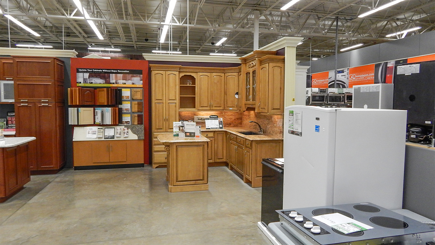 kitchen cabinets at home depot home depot kitchen cabinets Kitchen Cabinets At The Home Depot
