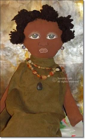 Yasmin Bag Holder Doll - NOT FOR SALE
