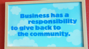 communitysign 300x167 Corporate Responsibility   Google Style