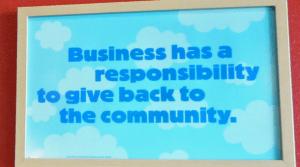 communitysign 300x167 Corporate Responsibility   Google Style
