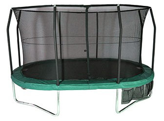 15ft x 10ft Oval JumpPOD Deluxe Trampoline