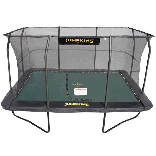 17ft X 14ft Jumpking Ovalpod Trampoline With Enclosure: Rectangular Trampolines