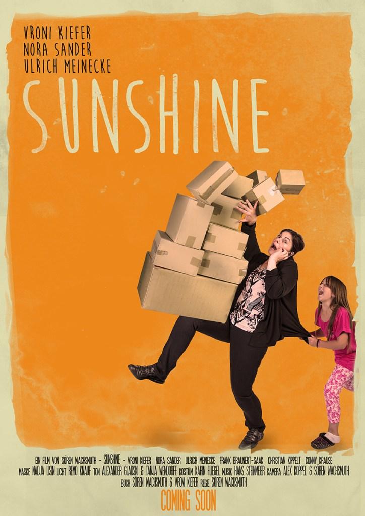 Das sunshine Filmposter mit Vroni Kiefer und Nora Sander