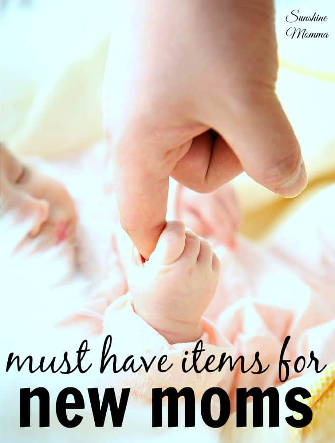 Must have items for new moms