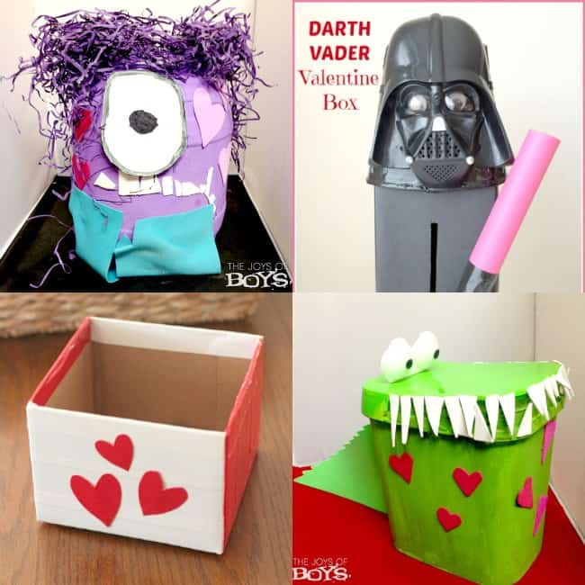 Diy valentine boxes for kids sunshine momma - Valentines day boxes for kids ...