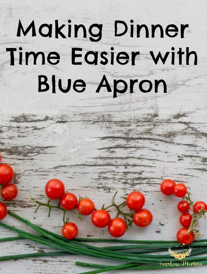 Making Dinner Time Easier with Blue Apron