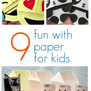 fun paper crafts for kids
