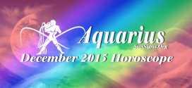 December 2015 Aquarius Monthly Horoscope