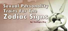Sexuality Personality Traits For The Zodiac Signs