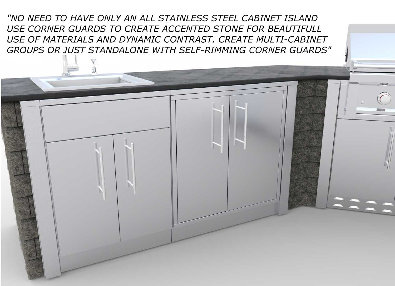Affordable Stainless Steel Base Cabinets Stainless Steel Stainless Steel Cabinets Sink Stainless Steel Cabinets Ebay houzz 01 Stainless Steel Cabinets