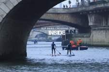 SUP RACE IN PARIS