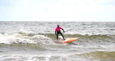 Scottish SUP surfers
