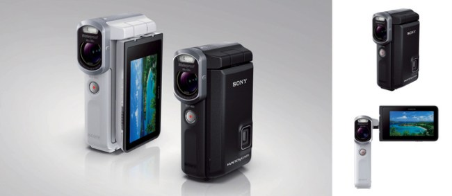 Sony Handycam HDR-GWP88 - Adventure Cam With Pico Projector