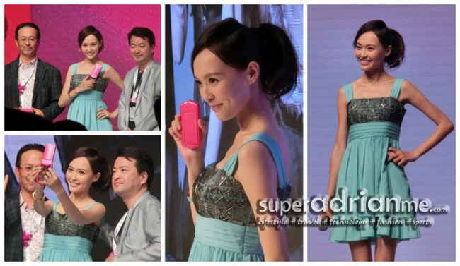 Casio EXILIM EX-TR350 Launch in Shanghai with Tang Yan
