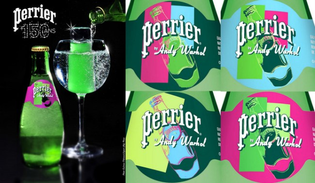 Perrier X Andy Warhol - 150th Anniversary Edition