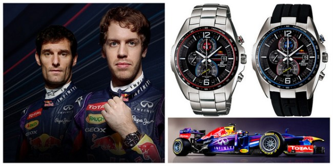 Casio EDIFICE X Infiniti Red Bull Race Limited Edition Watch