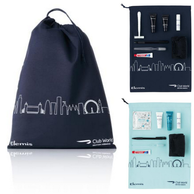 New British Airways Elemis Amenity Kits