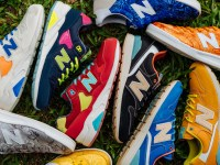 New Balance releases an extensive and colourful range of footwear perfect for anywhere from the gym to the busy city streets