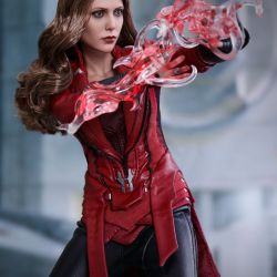 U 16 Hot Toys Marvel Avengers Mms357 Scarlet Witch Movie Promo