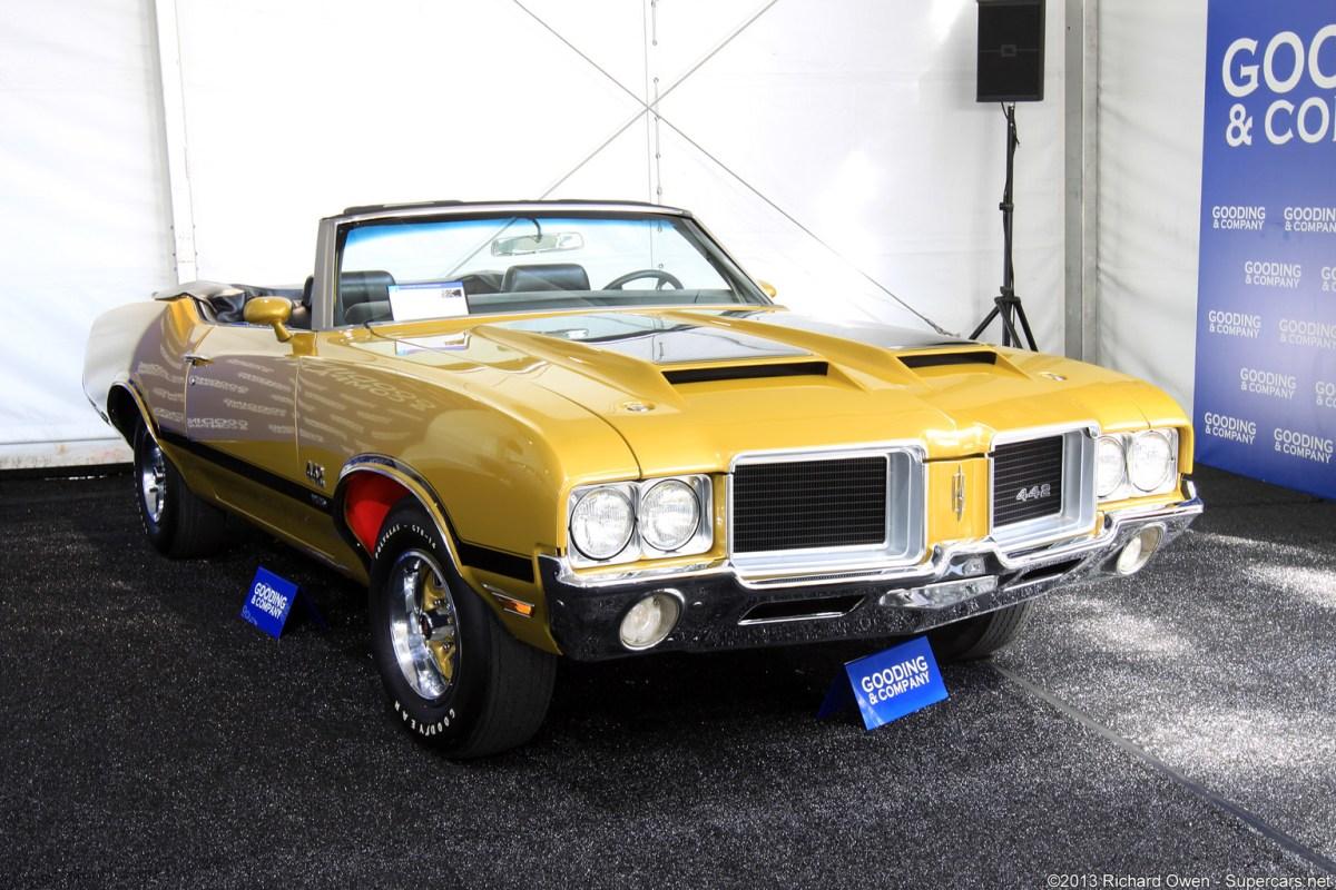 1971 Oldmosbile 442 W30