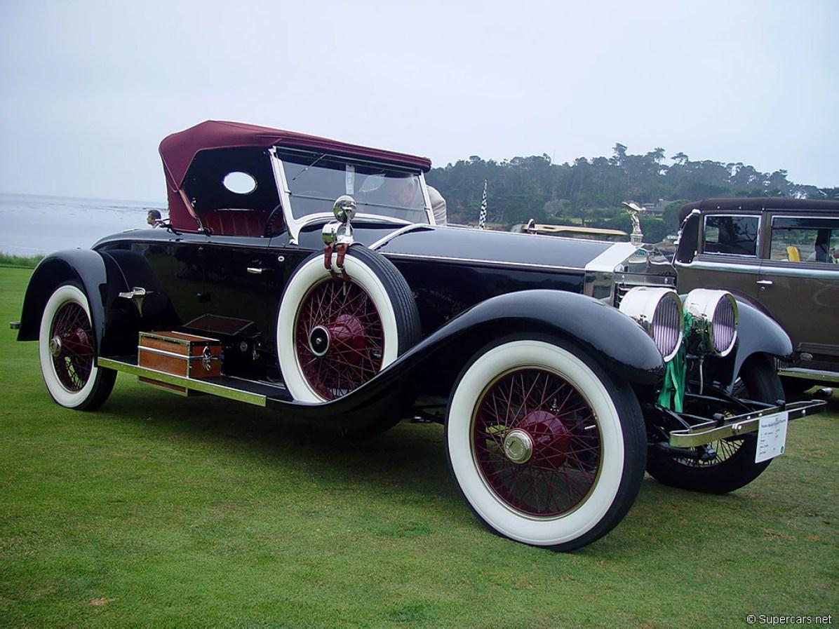 1919→1926 Rolls-Royce Springfield Silver Ghost