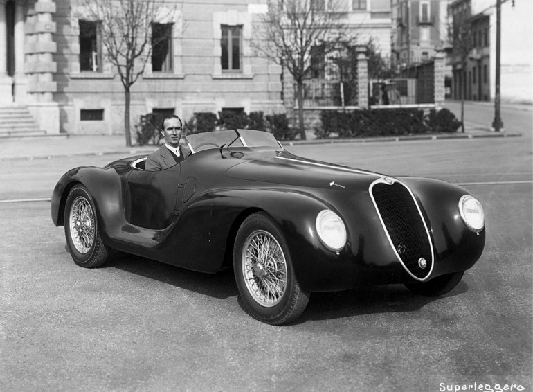 1940 Alfa Romeo 6C 2500 SS 'Torpedino Brescia'