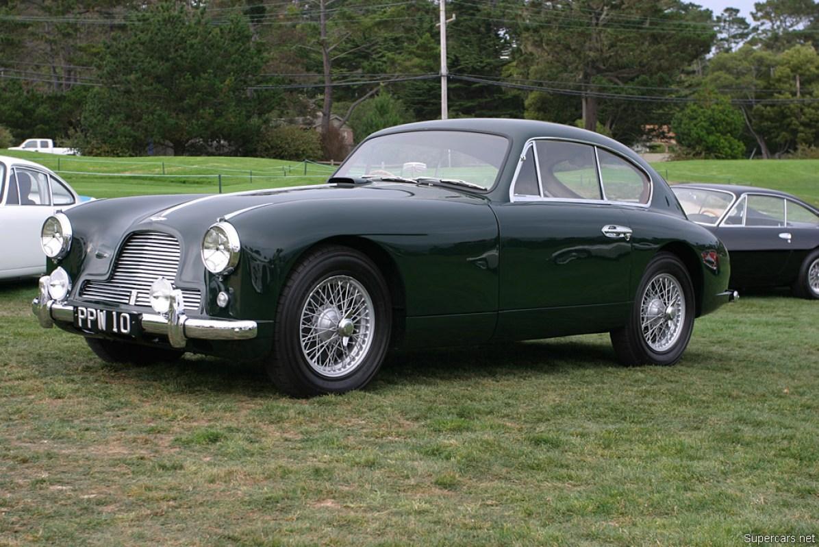 1953→1955 Aston Martin DB2/4