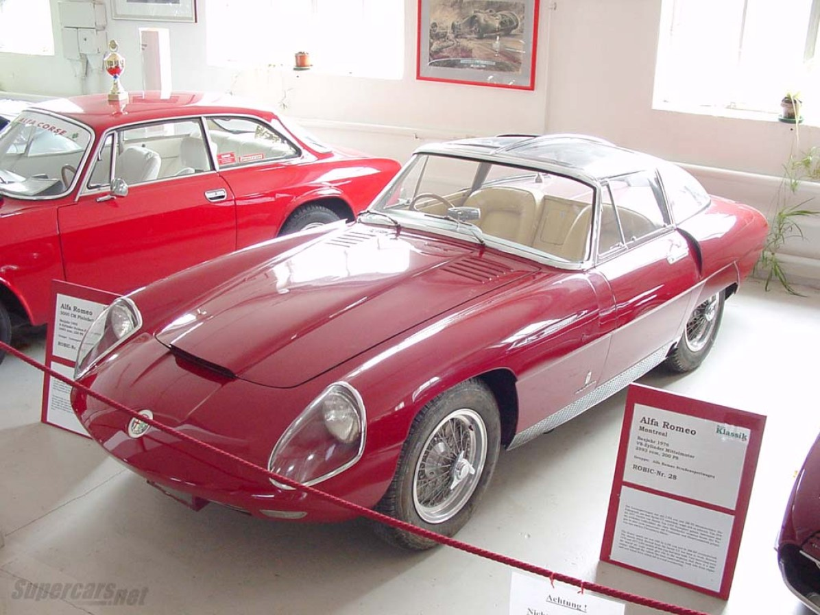 1955 Alfa Romeo 6C 3000 CM Superflow