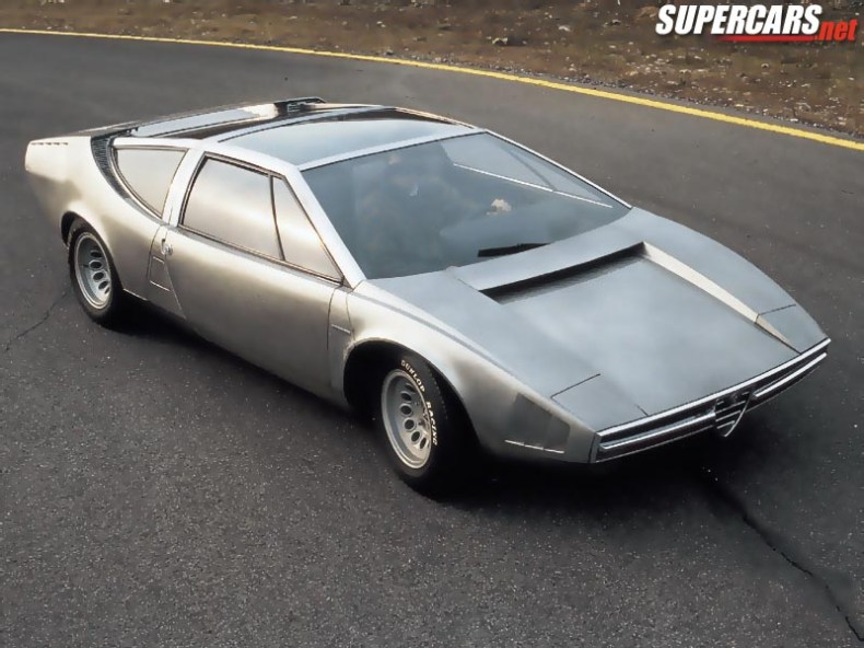 1969 Alfa Romeo Iguana Concept