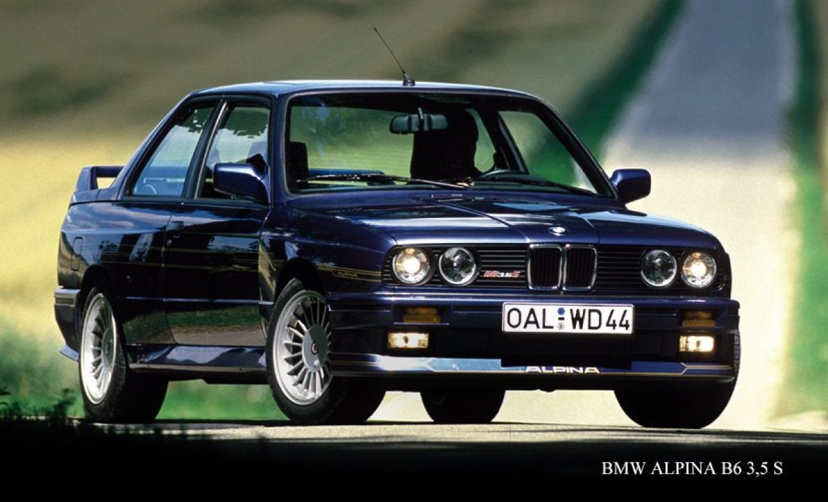 1987 Alpina B6 S