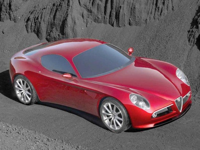 2003 Alfa Romeo 8C Competizione Concept