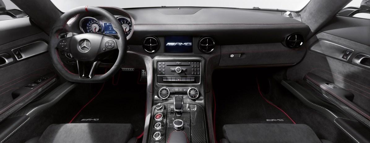 2013 Mercedes-Benz SLS AMG Coupé Black Series