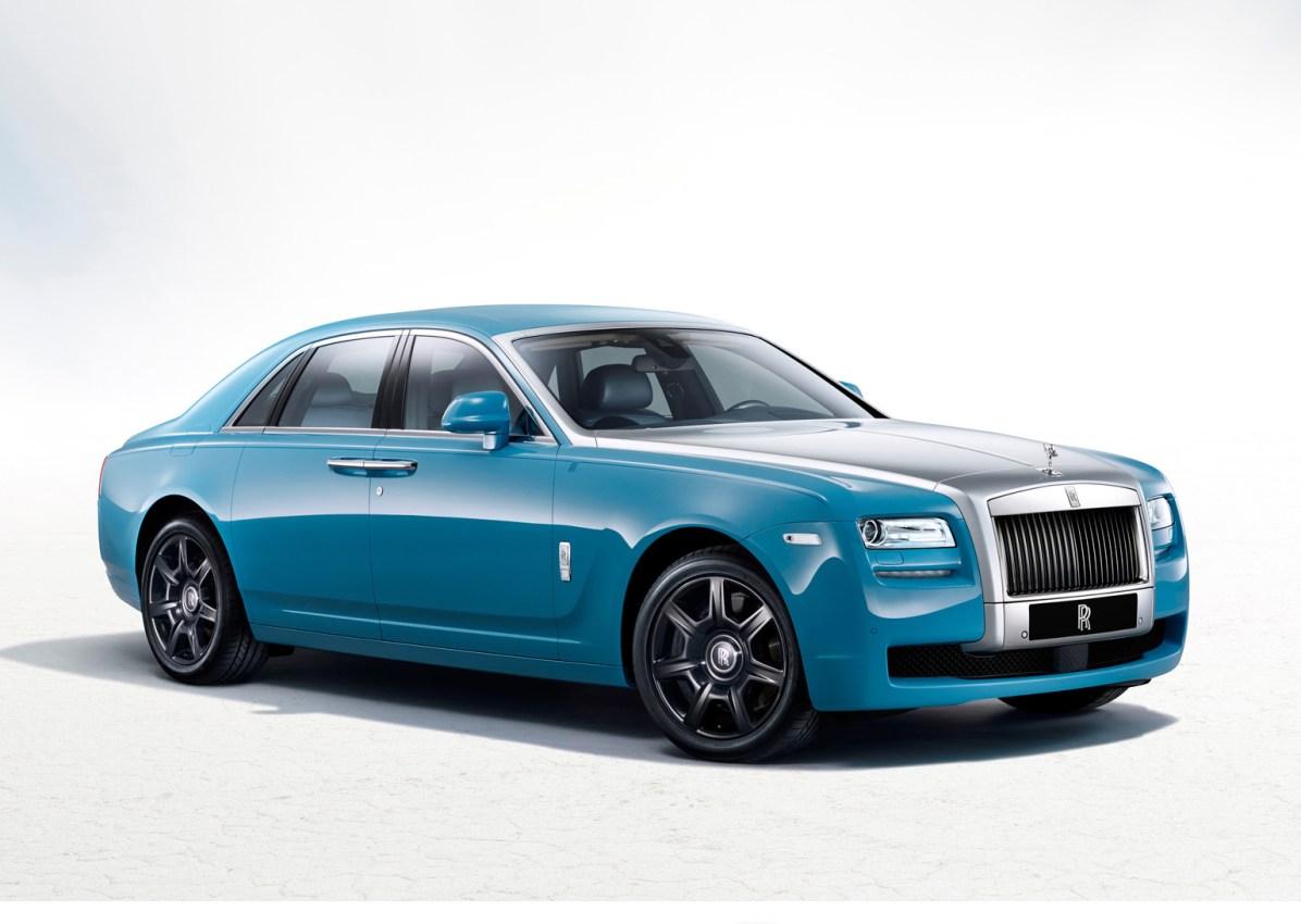 2013 Rolls-Royce Ghost Alpine Trial Edition